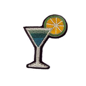 Medium macon lesquoy cocktail pin