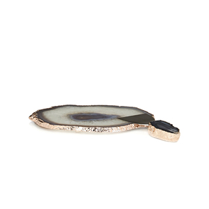Medium barneys rablabs agate platter  cheese spreader