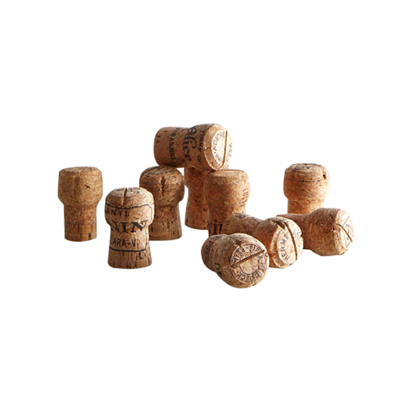 Karas Vineyard Wedding Champagne Cork Placecard Holders Semaine