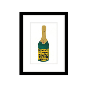 Medium john lewis cartwheels and conkers   champagne framed print  43 x 33cm
