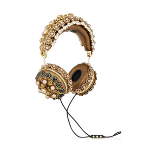 Medium dolce and gabban and frends embellished headphones