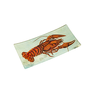 Medium the conran shop john derian lobster glass tray22cm