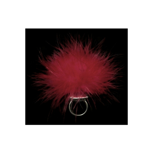 Medium bethony vernon marabou pleasure puff ring