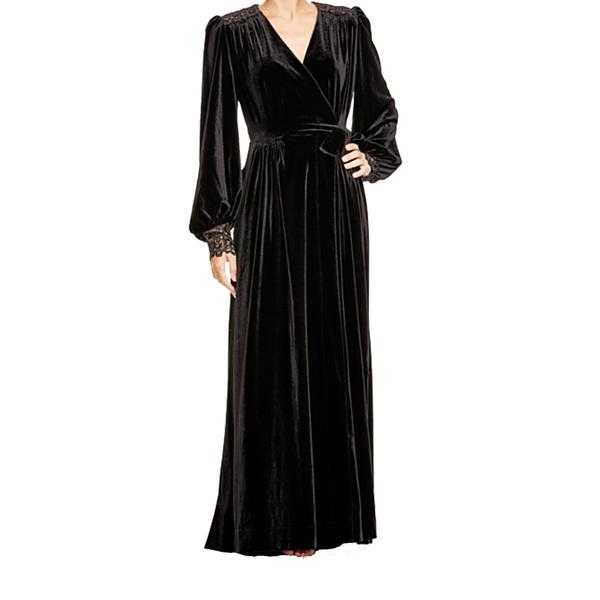 Large dita von teese dahlia dressing robe