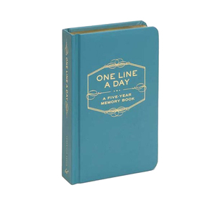 Medium chronicle books  one line a day five year memory book