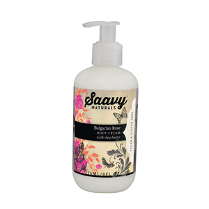Medium saavy bulgarian rose body cream