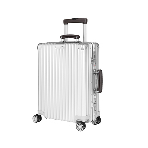 Medium rimowa classic flight four wheeled cabin suitcasr