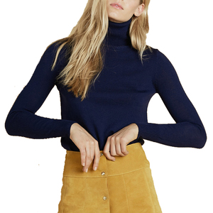 Medium stoned immaculate dellilah turtleneck sweater navy