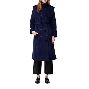 Medium rodebjer coat egun blue
