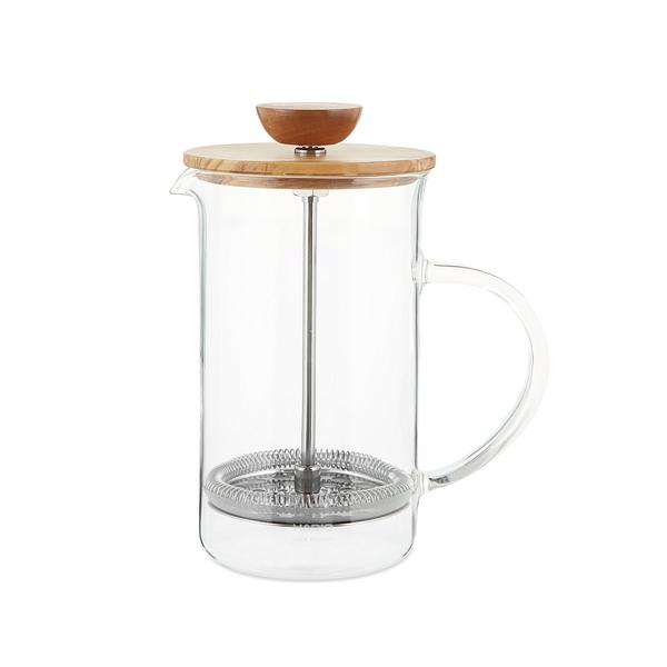 Large selfridges hario wood tea press  1