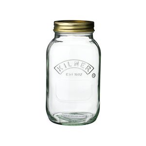 Medium kilner preserve jar  1l