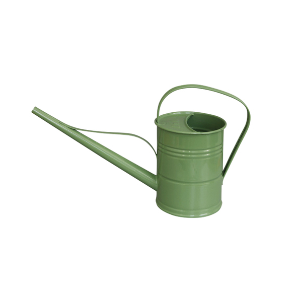 Large labour and wait small watering can