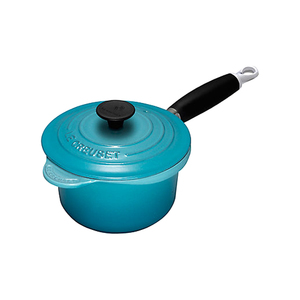 Medium le creuset cast iron saucepan  tea