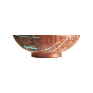 Medium treestump woodcraftsmall mesquite salad bowl