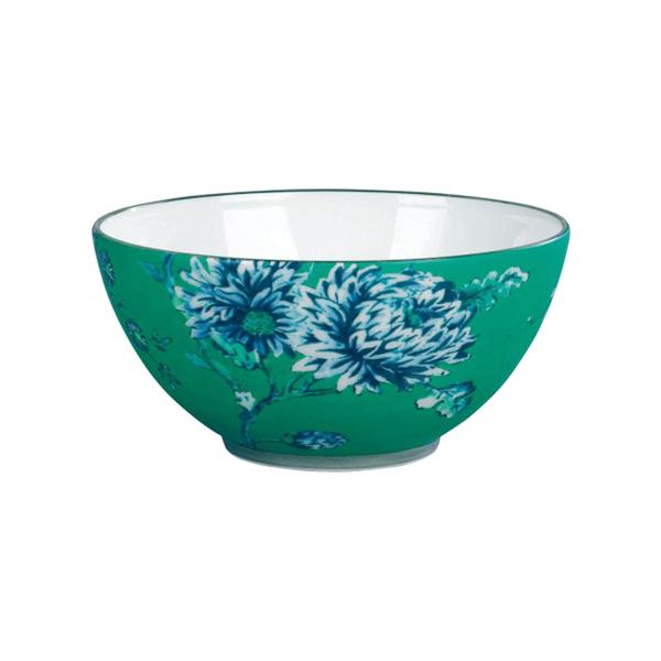 Large wedgewood  jasper conran chinoiserie green gift bowl 14cm