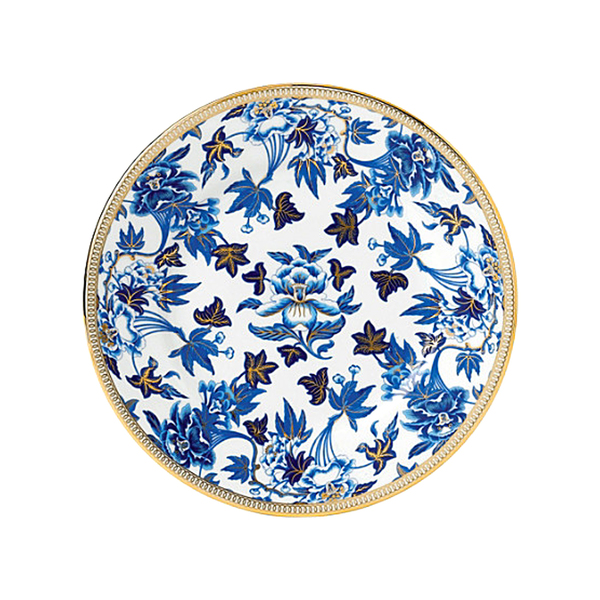 Large wedgwoodhibiscus plate 20cm