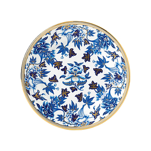 Medium wedgwoodhibiscus plate 20cm