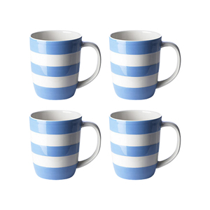 Medium john lewis cornishware mugs  set of 4