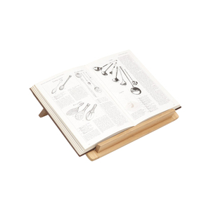 Medium universal expert by sebastian conran wooden cookbook stand