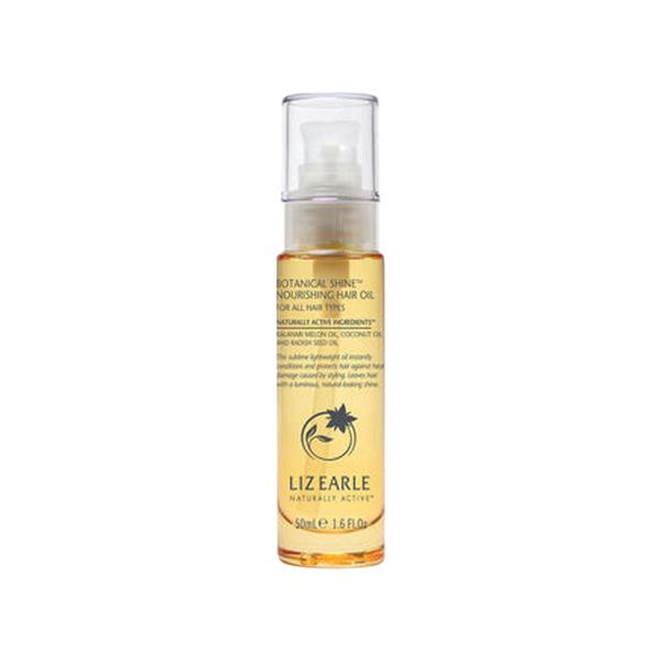 Large liz earle botanical shine  nourishing hair oil for all hair types