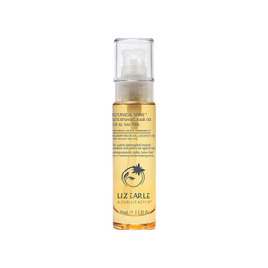 Medium liz earle botanical shine  nourishing hair oil for all hair types
