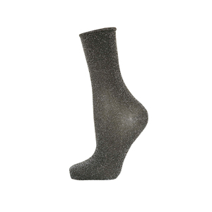 Medium topshop roll top glitter sock