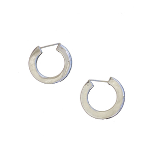 Medium sophie buhai classic hoop earrings