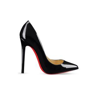 Medium christian louboutin pigalle 120 patent calf heel