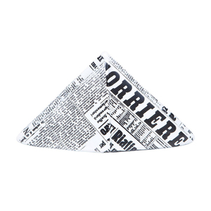 Medium large newspaper hat paperweight copy