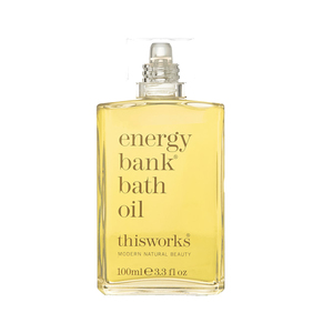 Medium this works energy bank bath oil  100m