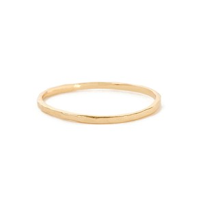 Medium bing bang jewellery delicate hammered band