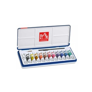 Medium store.carandache gouache studio assortiment 12 couleurs