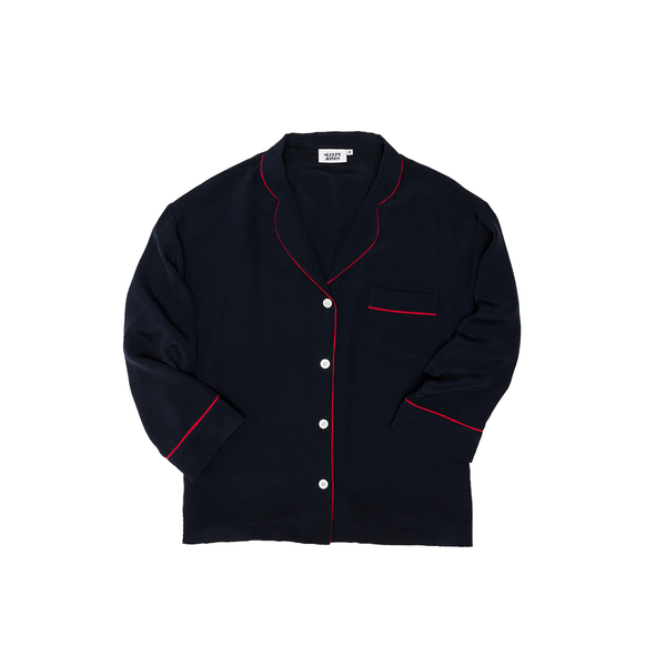 d453a4c28 Sleepy Jones - Marina silk pyjama shirt - Semaine