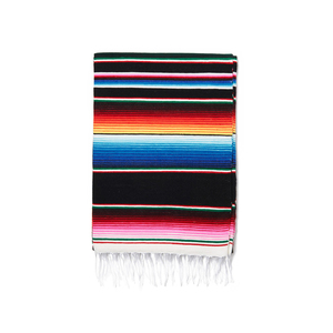 Medium shop latitude multi cotton serape blanket