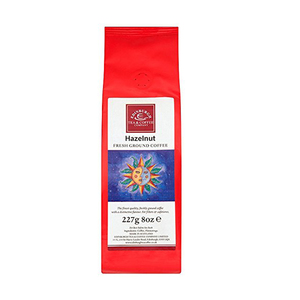 Medium coffeehazelnut flavoured coffee 227g