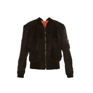 Medium vetementssatin bomber jacket with contrast lining