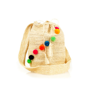Medium muzungu sistersfique mochila pompom bag