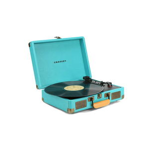 Medium crosley cruiser darkturquoise eu plug record player