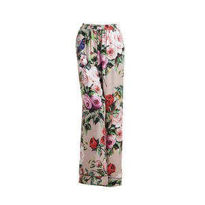 Medium  large dolce and gabbana pyjama trousers in printed silk