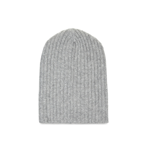 Medium the edler statement ribbed cashmere beanie