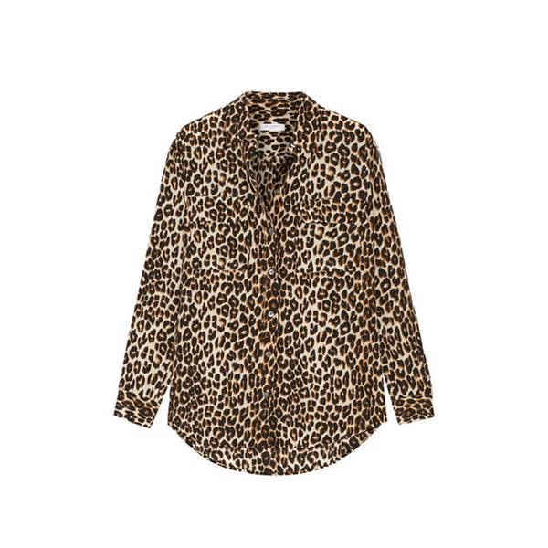 a4410259fe9849 Equipment - Signature leopard print shirt - Semaine