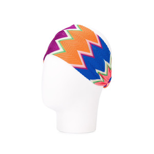Medium farfetch missoni zig zag knit headband