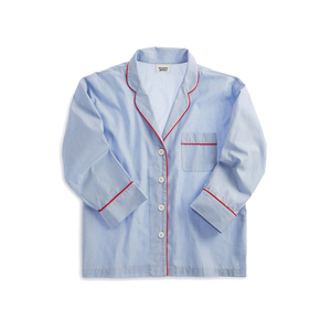 Medium sleepy jones marina pajama shirt