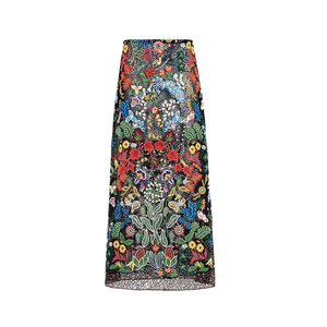 Medium valentino skirt in macrame