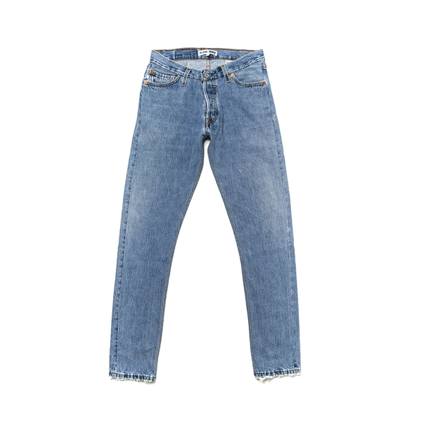 3d8b42fa97651 RE DONE - Levi straight skinny jeans - Semaine