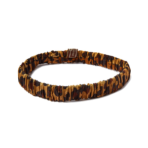 Medium liberty otis betterbee camel leopard print beauty headband