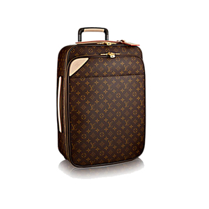 Medium louis vuitton pe gase le ge re 55 business monogram canvas travel  m20013 pm2 front view