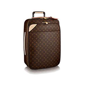 Medium louis vuitton pe gase le ge re 55 business monogram canvas travel  m20013 pm2 front view