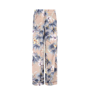 Medium valentino trousers in crepe de chine