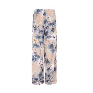 Medium valentino trousers in crepe de chine